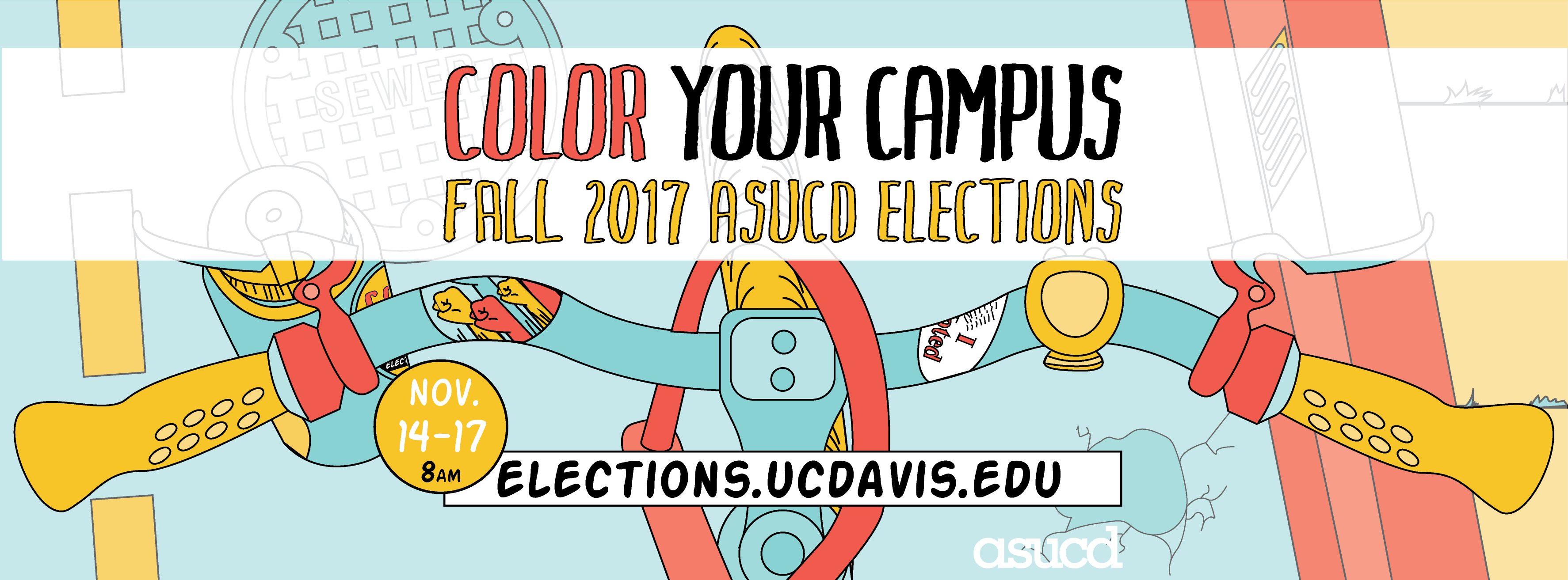 ASUCD Elections Banner